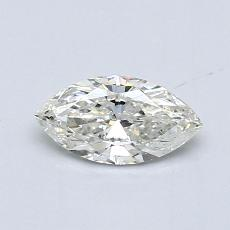 Recommended Stone #1: 0,48-Carat Marquise Cut Diamond