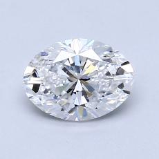 Recommended Stone #4: 0.83-Carat Oval Cut Diamond