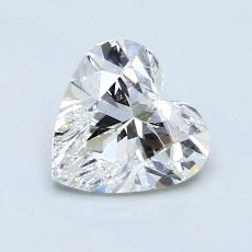 Recommended Stone #2: 1,01-Carat Heart Cut Diamond