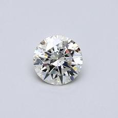 推荐宝石 2:0.38克拉圆形切割钻石
