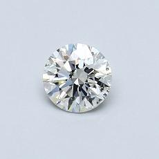 0.40 Carat 圆形 Diamond 理想 I SI2