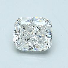 オススメの石No.2:1.01カラットのクッションカットダイヤモンド