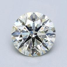 ターゲットの石:1.13カラットのラウンドカットダイヤモンド