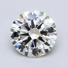 1.40 Carat 圆形 Diamond 理想 K SI1
