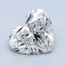 Recommended Stone #3: 1.82-Carat Heart Shaped