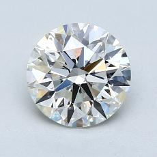 1.66-Carat Round Diamond Ideal I VS1