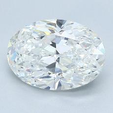 Recommended Stone #1: 2.02-Carat Oval Cut Diamond
