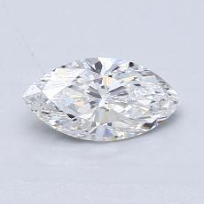 推薦鑽石 #4: 0.62 Carat Marquise Cut