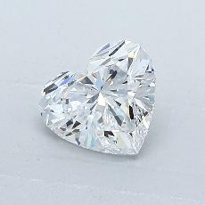 1.01-Carat Heart Diamond Very Good D IF