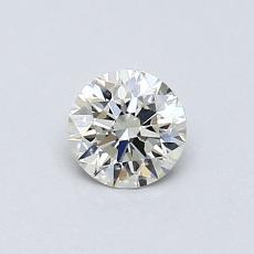 0.31 Carat 圆形 Diamond 理想 K VS1