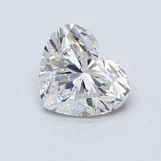 Recommended Stone #2: 0,80-Carat Heart Cut Diamond