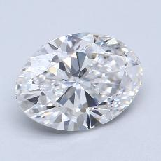 Recommended Stone #2: 1.40-Carat Oval Cut Diamond