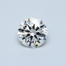 Pierre recommandée n°2: Diamant taille ronde 0,42 carat