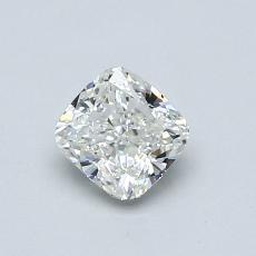 推荐宝石 3:0.60 克拉垫形钻石