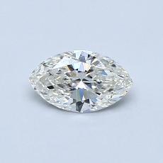 推荐宝石 2:0.46 克拉榄尖形钻石