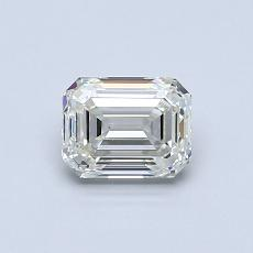 Recommended Stone #3: 0.71-Carat Emerald Cut Diamond