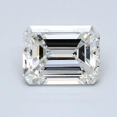 Recommended Stone #1: 1,50-Carat Emerald Cut Diamond