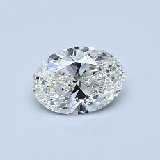 推薦鑽石 #1: 0.51 克拉橢圓形切割鑽石