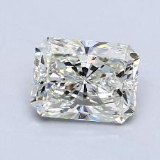 Pierre recommandée n°3: Diamant taille radiant 1,25 carats