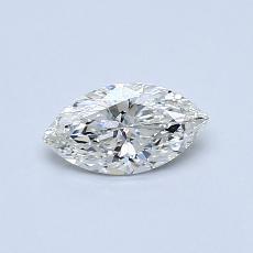 Pierre recommandée n°3: Diamant taille princesse 0,43 carat