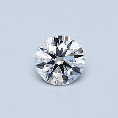 Recommended Stone #2: 0.34-Carat Round Cut Diamond