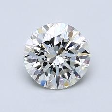 1.00 Carat 圓形 Diamond 理想 J VS2