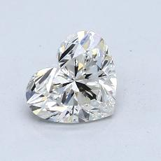 Recommended Stone #4: 1.07-Carat Heart Cut Diamond