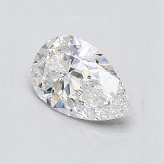 0.70 Carat 梨形 Diamond 非常好 E VS2