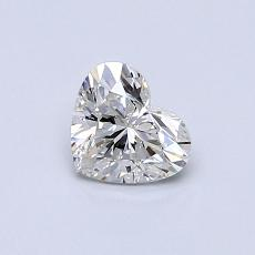 Recommended Stone #4: 0.51-Carat Heart Cut Diamond