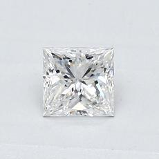 Recommended Stone #2: 0.46-Carat Princess Cut Diamond