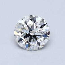 0.83-Carat Round Diamond Ideal G IF