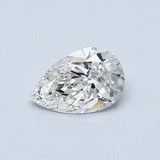 Recommended Stone #1: 0.44-Carat Pear Cut Diamond