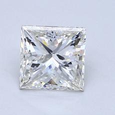 Recommended Stone #4: 1.00-Carat Princess Cut Diamond