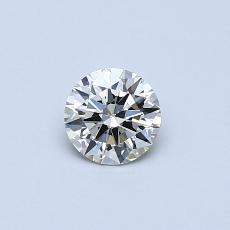 0.30-Carat Round Diamond Ideal K SI1