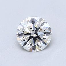 Recommended Stone #1: 0.73-Carat Round Cut