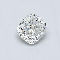 Recommended Stone #3: 0.51-Carat Cushion Cut Diamond