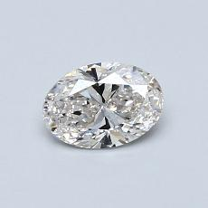 0.51-Carat Oval Diamond Very Good I VS2
