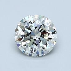1.01 Carat 圓形 Diamond 良好 J SI1