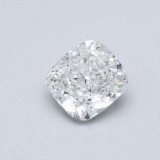 目标宝石:0.50 克拉垫形钻石