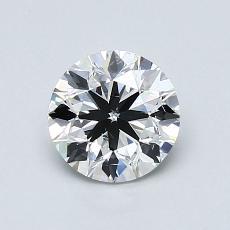 1.00 Carat 圓形 Diamond 非常好 G SI1