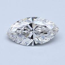 Recommended Stone #2: 0,72-Carat Marquise Cut Diamond