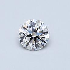 Target Stone: 0.41-Carat Round Cut Diamond