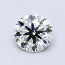 オススメの石No.4:0.91カラットのラウンドカットダイヤモンド