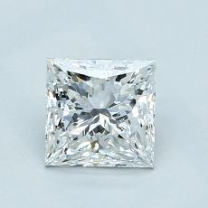 1.01 Carat 公主方形 Diamond 非常好 E SI2