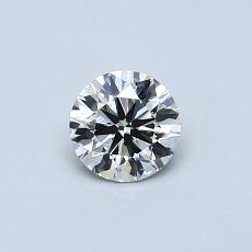 Recommended Stone #4: 0.39-Carat Round Cut Diamond