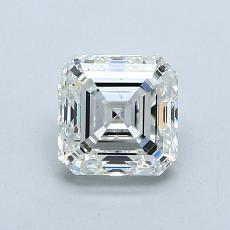 Pierre recommandée n°2: Diamant taille Asscher 1,01 carat
