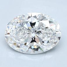 Recommended Stone #3: 1,72-Carat Oval Cut Diamond