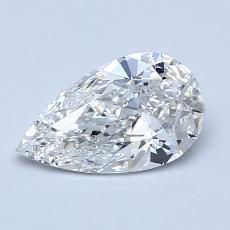 Target Stone: 0.90-Carat Pear Cut Diamond