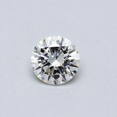Pierre recommandée n°4: Diamant rond 0,30 carat