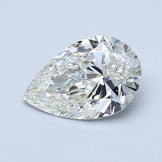 Recommended Stone #4: 0.90-Carat Pear Cut Diamond